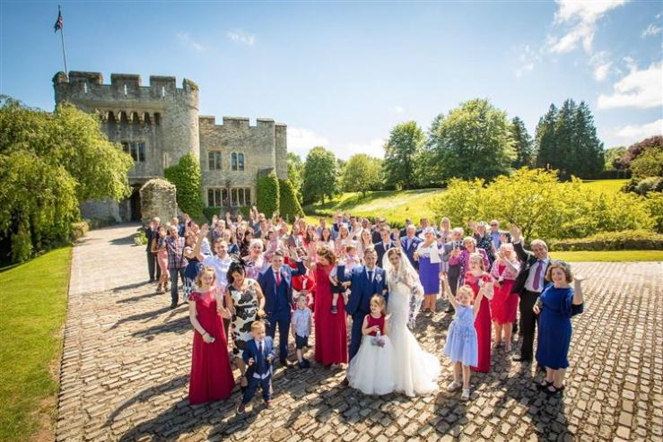 Allington Castle Wedding